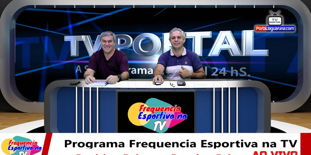 Programa Frequencia Esportiva na TV AO VIVO a terapia do riso