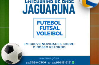 Categorias de base em Jaguaruna